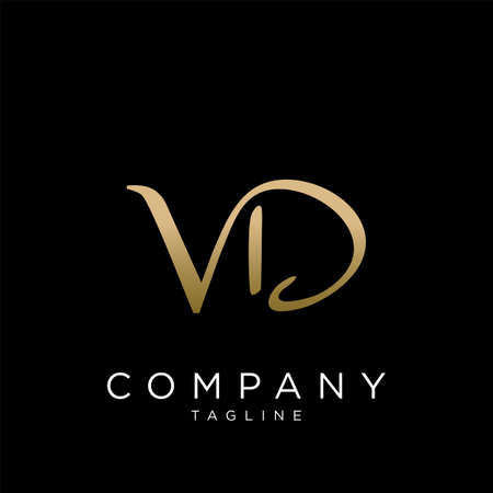 vd luxury logo design vector icon premium