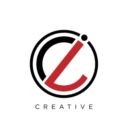 cl logo design vector icon symbol Logó