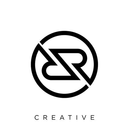 symbol, icon, modern, design, rr, geometric, letter, vector, business, r, logotype, simple, sign, concept, logo, company, brand, monogram, initial, dr, linked, creative, marketing, web, internet, cons