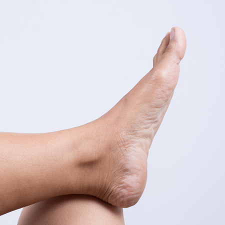 female soles: Relax foot.