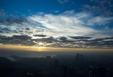 Sunrise at Sydney Australia photo