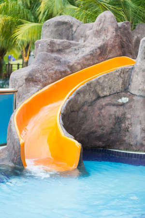 Water slide photo