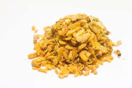 potato tree: Dried Shrimp Stock Photo