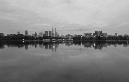 morning blue hour: Kuala Lumpur City