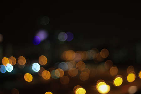 blurr: Bokeh of city light at night