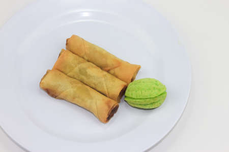 delicacy: Malay traditional delicacy on plate Stock Photo