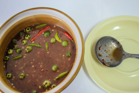 thai chili pepper: Local rural kind of spicy.