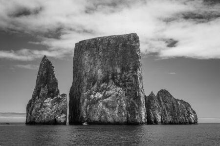 galapagos: Landscape of the Galapagos Islands in Ecuador Stock Photo