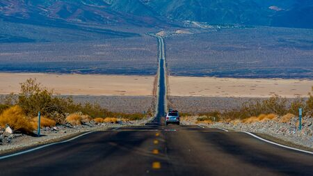 lack water: Death Valley is the hottest and driest place in North America because of its lack of surface water and its low relief.