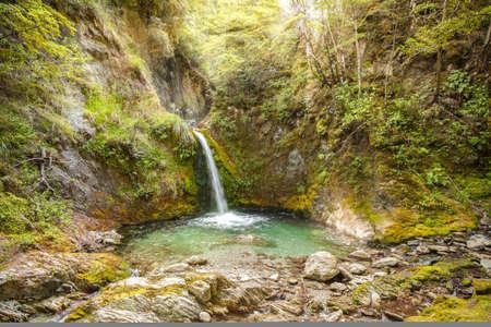 Waterfall, New Zealand, Falling, Mystery, Nature