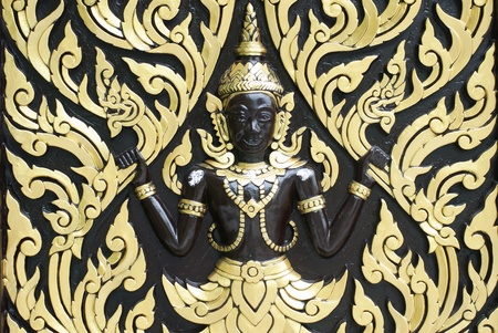 Thailand wall sculpture