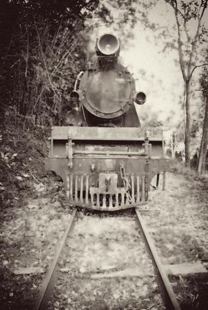 Old Vintage Train Image photo