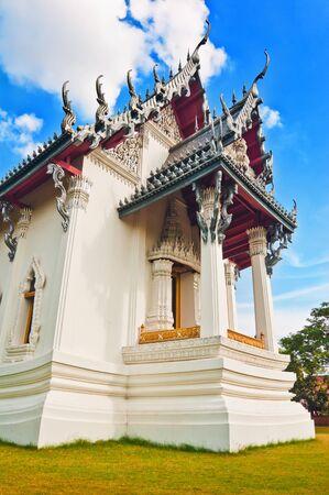 Thai Temple-Sanphet Prasat Palace Bangkok, Thailand Stock Photo - 13999399