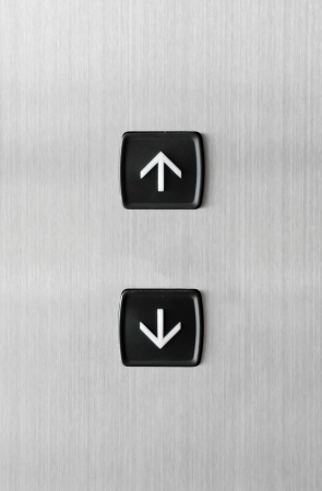 Elevator Button up and down direction Stock Photo - 14122106