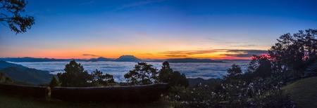 beautiful View point at huai nam dang national park,Chiang Mai, Thailand Stock Photo - 16723304
