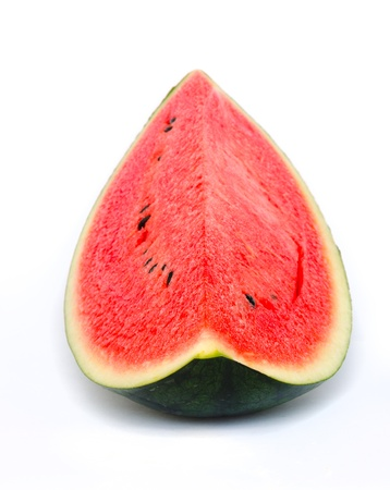 watermelon isolated on a white background Stock Photo