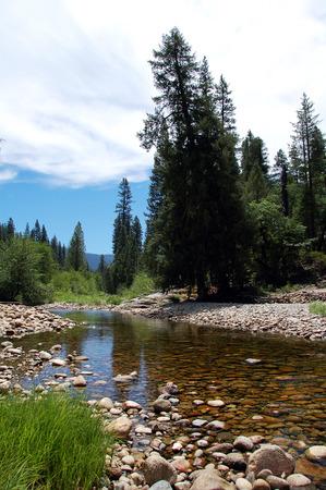 Yosemite Water stream Scenery  Yosemite National Park Stock Photo - 1477269