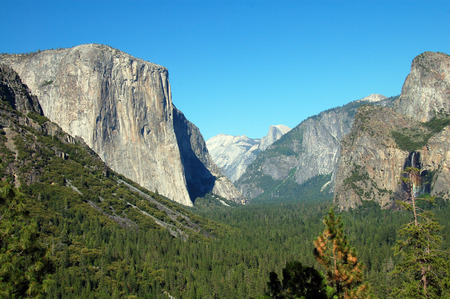 Tunnel Viewpoint Yosemite National Park Stock Photo - 1477265