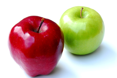 Apples Pair Stock Photo - 1517663