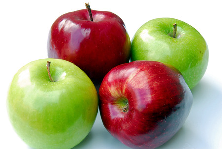 Four Apples Stock Photo - 1517669