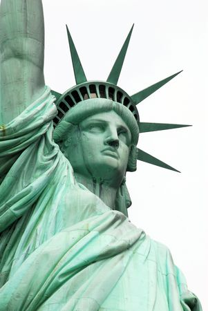 Statue of Liberty at New York USA Stockfoto