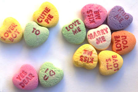 Valentine Love Heart Candy Stock Photo - 2390112