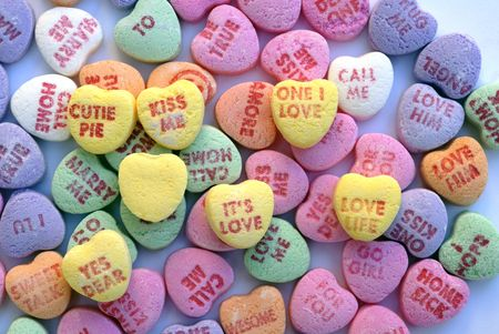 bonbons: Valentine Love Heart Candy