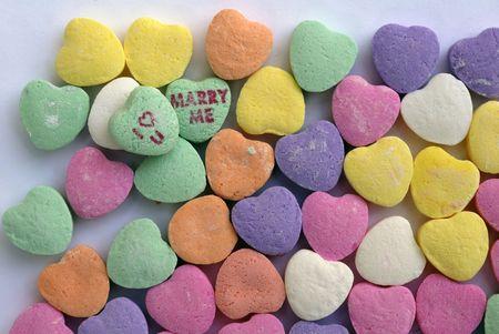 colo: Valentine Love Heart Candy