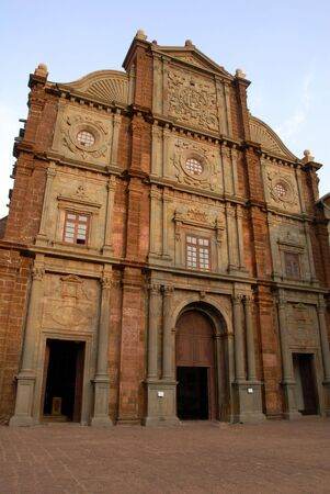 preach: The Saint Francis Church in Panaji Goa India