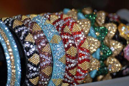 traditional culture: Colorful Bridal Ornament Bangles
