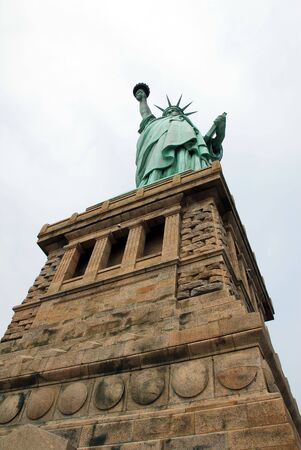 tarnish: Statue of Liberty Stock Photo