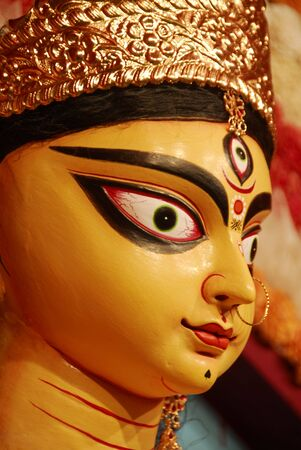 Durga Puja Festival Kolkata India Stock Photo