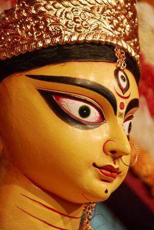 puja: Durga Puja Festival Kolkata India Stock Photo