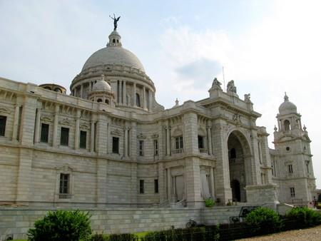 historians: Victoria Memorial Building a Calcutta in India. Un attrazione turistica e famosa
