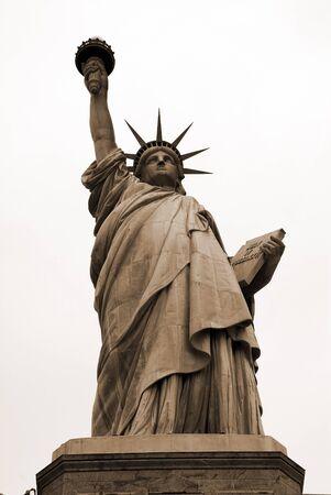 tarnish: Statue of Liberty Stock Photo