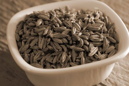 saunf: An assortment of green fennel seeds used in cooking