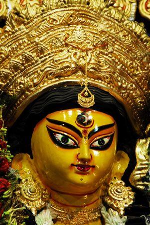 Durga Puja Festival in Kolkata Bengal . India Stock Photo - 5667876