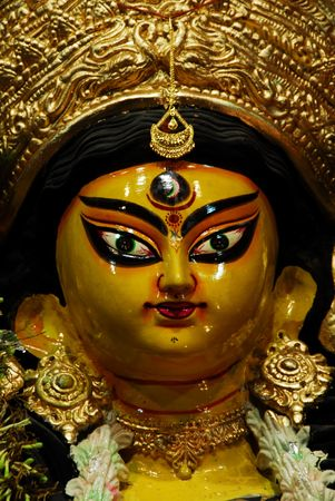 puja: Durga Puja Festival in Kolkata Bengal . India