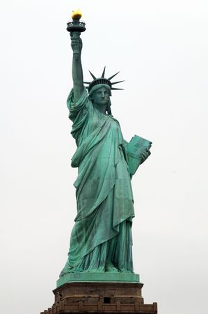 newyork: Statue of Liberty in New York USA Stock Photo