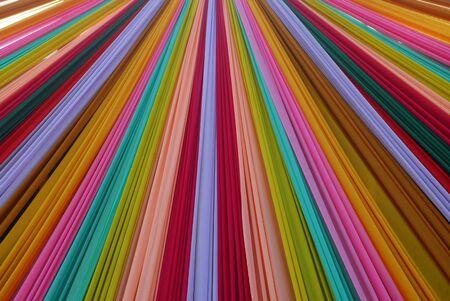 Ornate colorful designer curtains in multi colors Stock Photo - 7047753