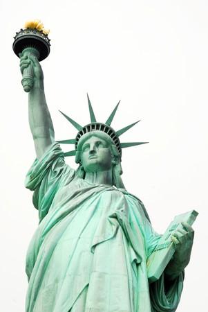 Statue of Liberty in New York USA 版權商用圖片