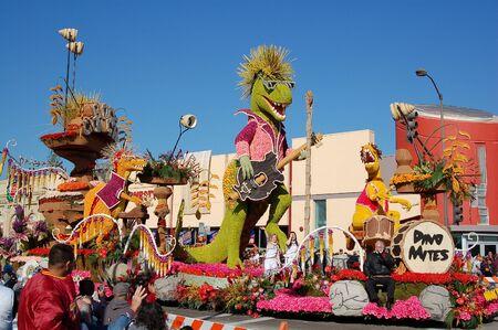 118th Rose Parade on January 1, 2007 at Colorado Boulevarde Pasadena California