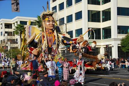 122nd Rose Parade on January 1, 2011 at Colorado Boulevarde Pasadena California Stock Photo - 8526502