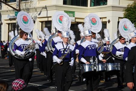 122nd Rose Parade on January 1, 2011 at Colorado Boulevarde Pasadena California Stock Photo - 8526495