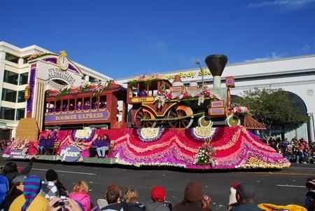 122nd Rose Parade on January 1, 2011 at Colorado Boulevarde Pasadena California Stock Photo - 8526504