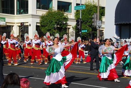 122nd Rose Parade on January 1, 2011 at Colorado Boulevarde Pasadena California Stock Photo - 8526567