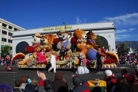 122nd Rose Parade on January 1, 2011 at Colorado Boulevarde Pasadena California