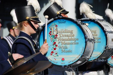 122nd Rose Parade on January 1, 2011 at Colorado Boulevarde Pasadena California Stock Photo - 8540904