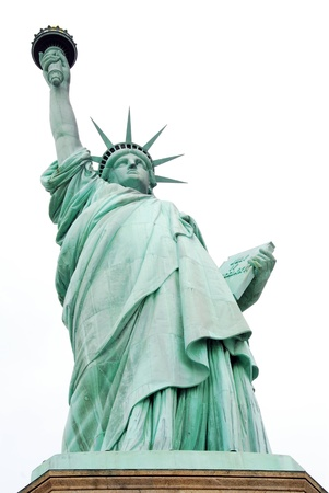 tarnish: Statue of Liberty in New York USA Stock Photo
