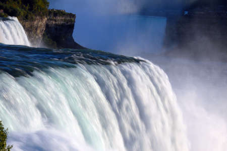 scenic Niagara Falls in New York usa photo